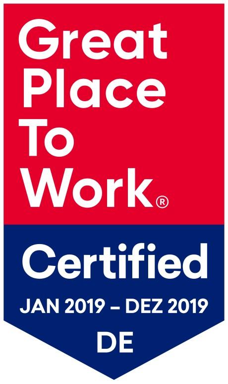 """Bild im Text zu Wir sind zertifiziert als """"Great Place to Work""""..."""