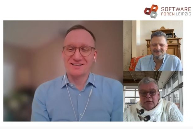 Screenshot Interview André Köhler und Gerhard Versteegen