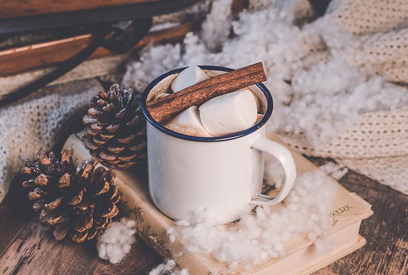 Zum Jahresende gönnen wir uns eine heiße Tasse Kakao