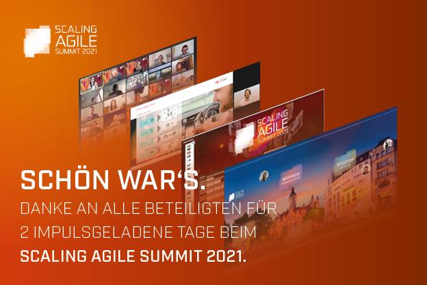 Scaling Agile Summit Screenshots