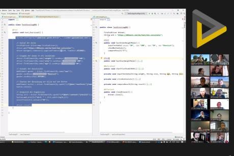 TACON Screenshot Videokonferenz 2020