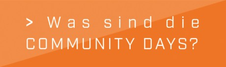 Info-Flyer Community Days