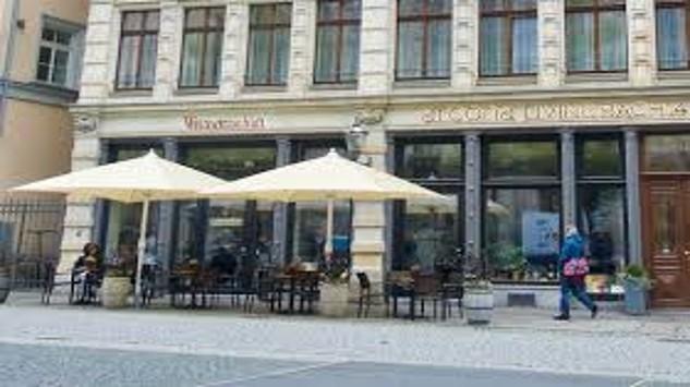 Bild im Text zu Gemeinsames Abendessen und lockerer Tagesausklang in der Weinwirtschaft Leipzig