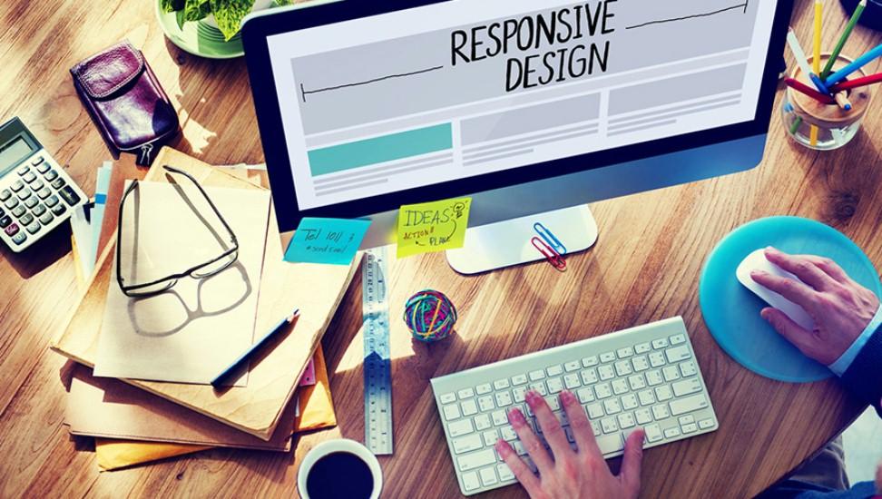 Monitor mit Responsive Design